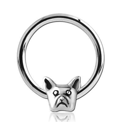 14g Frenchie Captive Bead Ring