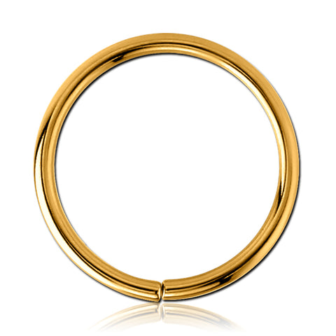 Gold Plated Continuous Ring