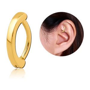 Gold Plated Simple Cartilage Clicker