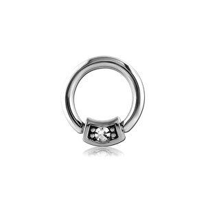 Jeweled Captive Bead Ring