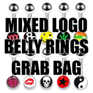 Logo Belly Ring Grab Bag (3-pack)