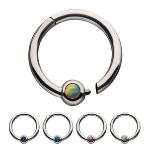 Opal Hinged Segment Ring