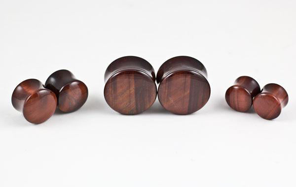 Red Tiger Eye Plugs by Oracle Body Jewelry