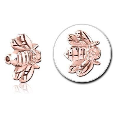4mm Rose Gold Plated Honeybee Replacement Bead
