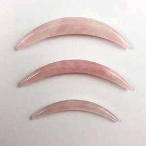 Rose Quartz Septum Tusk by Oracle Body Jewelry