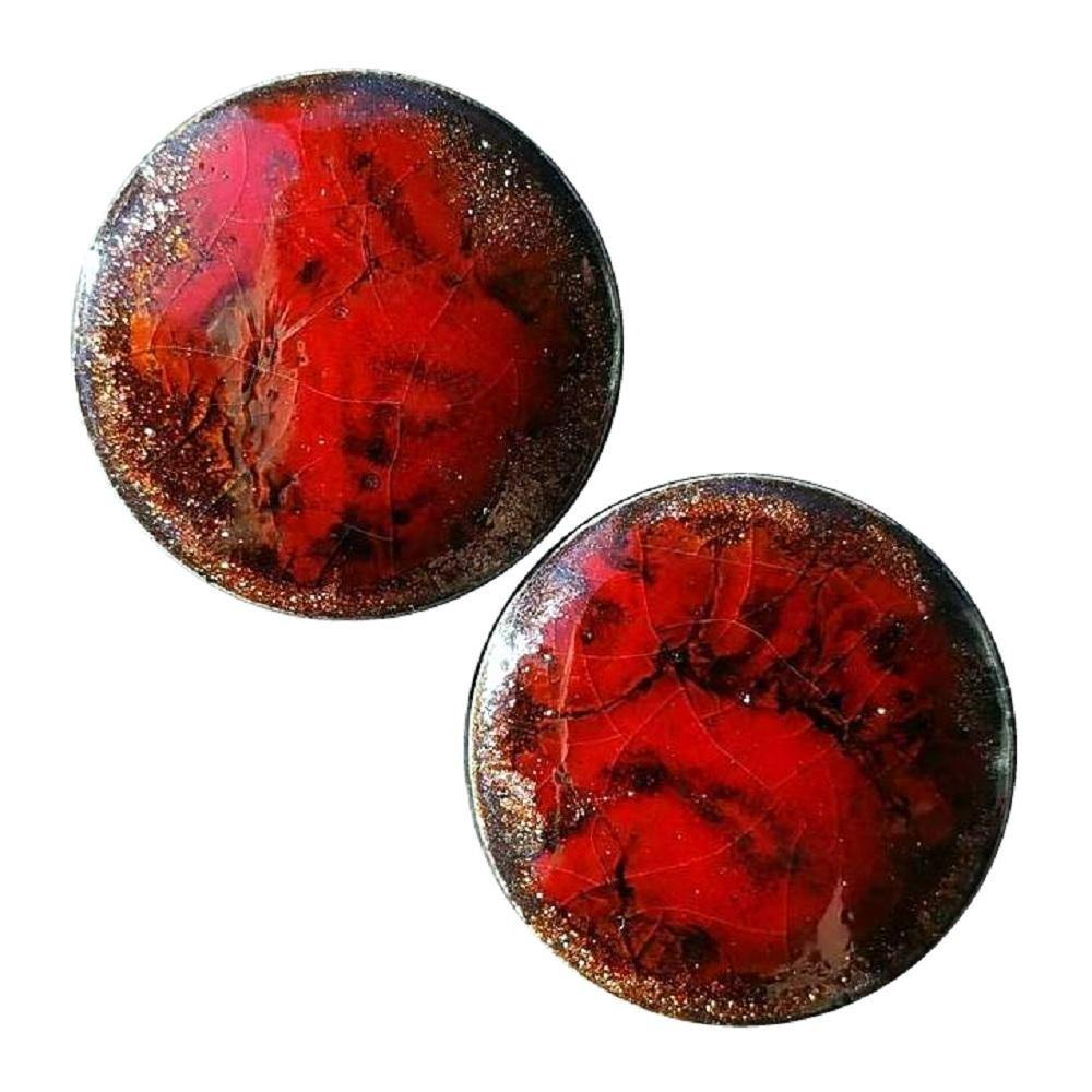 Ruby Red Ceramic Plugs