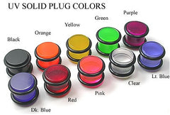 Acrylic Straight Plugs