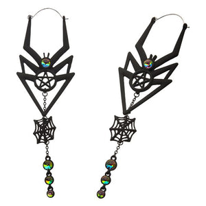 Spiderweb Dangle Tunnel Hoops