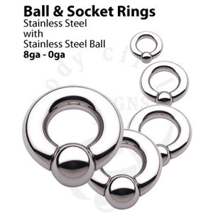 Socket Ring by Body Circle Designs