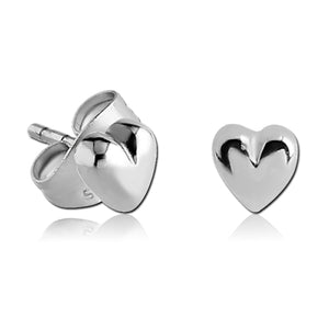 Stainless Heart Earrings
