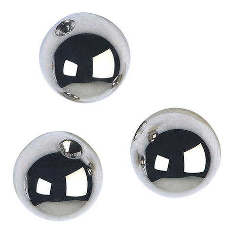 Stainless Beads (4-Pack)