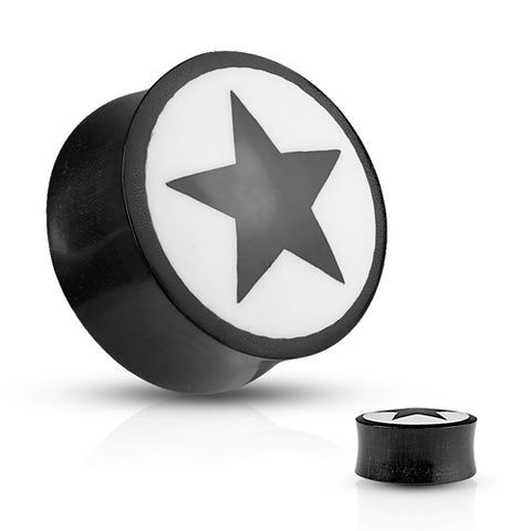 Star Inlay Horn Plugs