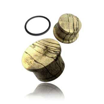 Tamarind Wood Single Flared Plugs