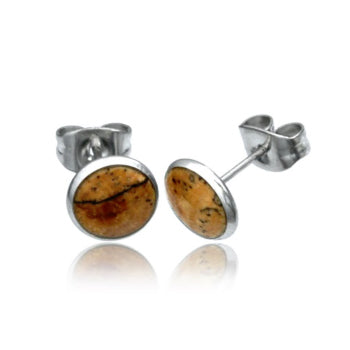 Tamarind Wood Stud Earrings