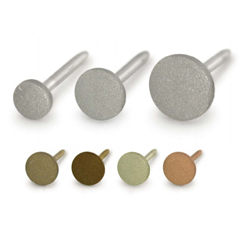 18g Textured Titanium Disc by NeoMetal