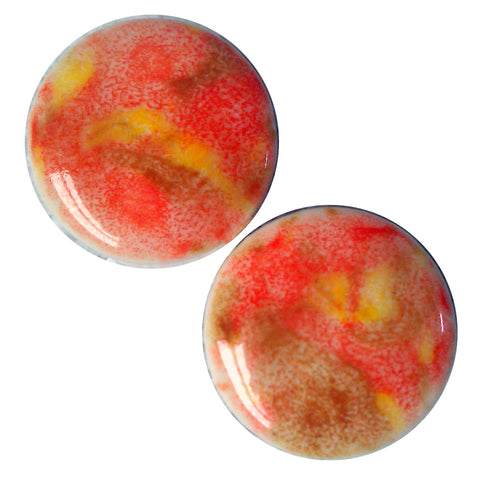 Tiger Lily Ceramic Plugs