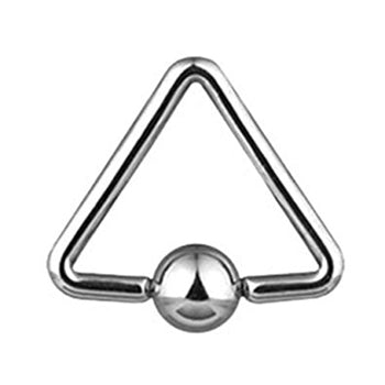 Triangle Captive Bead Ring