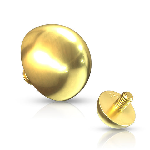 14k Gold Dome