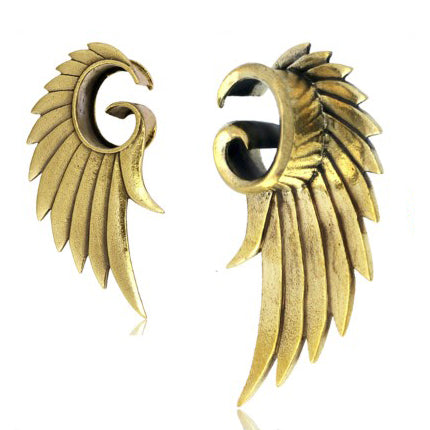 Brass Angel Wing Tunnels