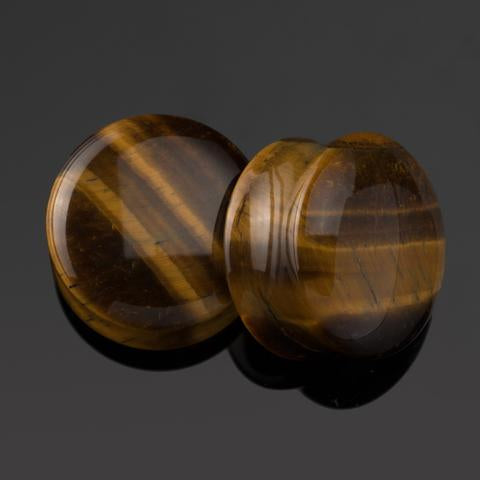 Tigers Eye Plugs by Diablo Organics