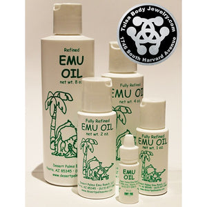 Emu Oil by Desert Palms Emu Ranch