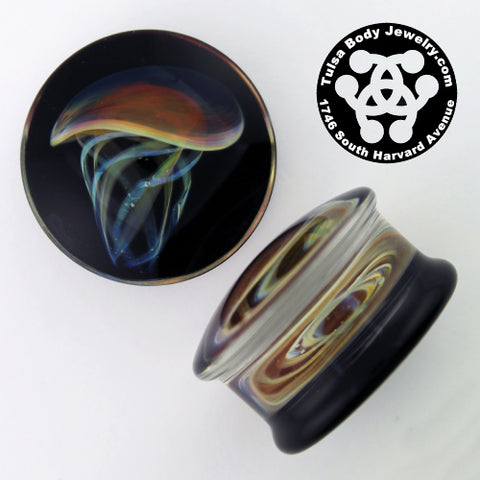 Jellyfish Plugs by Glasswear Studios