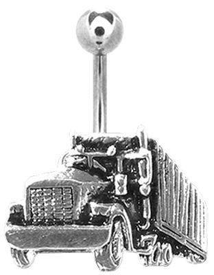 Big Rig Truck Belly Ring