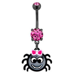 Cute Spider Belly Dangle