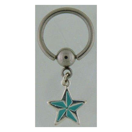 Nautical Star Captive Dangle