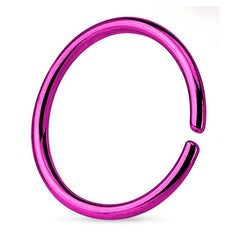 Captive Bead Rings - Anodized Continuous Ring