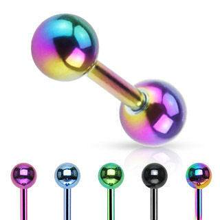 Anodized Cartilage Barbell