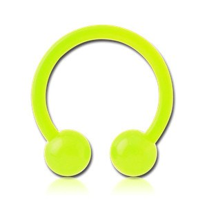 Glow-in-the-Dark Bioflex Circular Barbell
