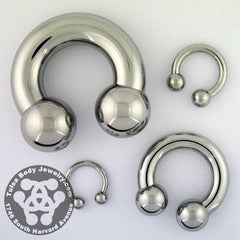Circular Barbells - Stainless Steel Circular Barbell By Body Circle Designs