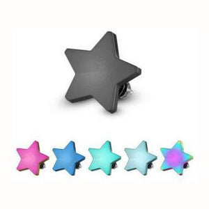 Anodized Steel Star