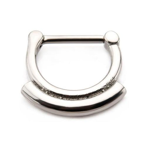 Stainless Double Stack Septum Clicker