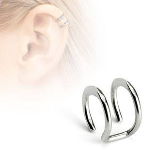 Double Ring Ear Cuff