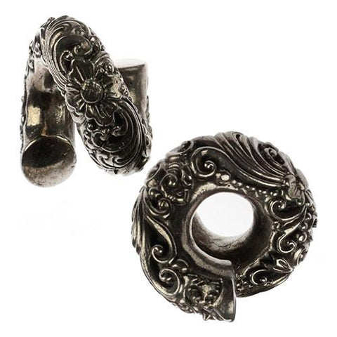 "Ear Weights - 1/2"" Ornate Coils By Evolve Jewelry"