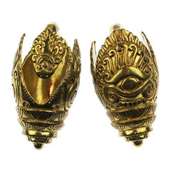 Ear Weights - Ancient Eye Khmer Weights By Evolve Jewelry