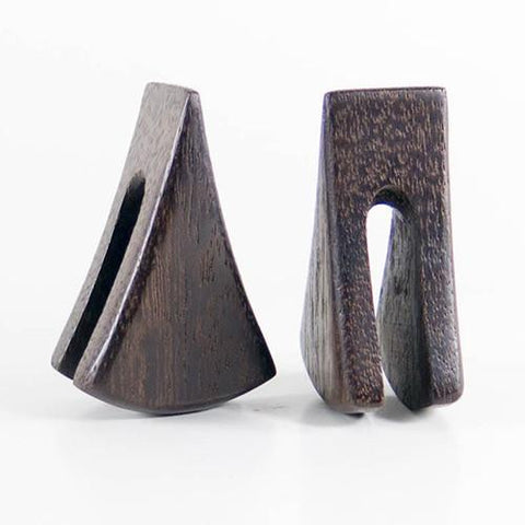Ear Weights - Dark Raintree Lisu Weights By Siam Organics