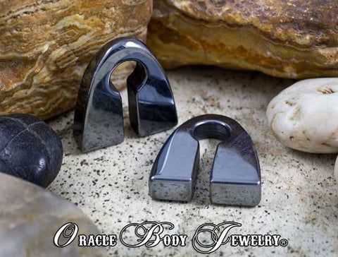 Hematite Pyramids by Oracle Body Jewelry