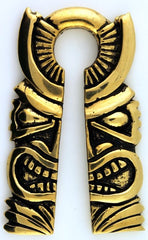 Rectangular Tiki Weights by Oracle Body Jewelry