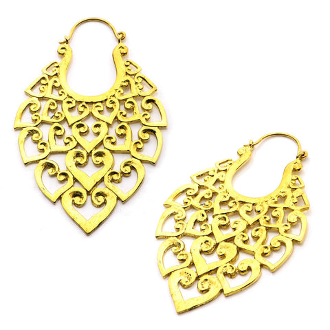 18g Bratus Brass Earrings