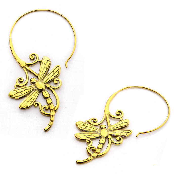 Draklo Brass Earrings