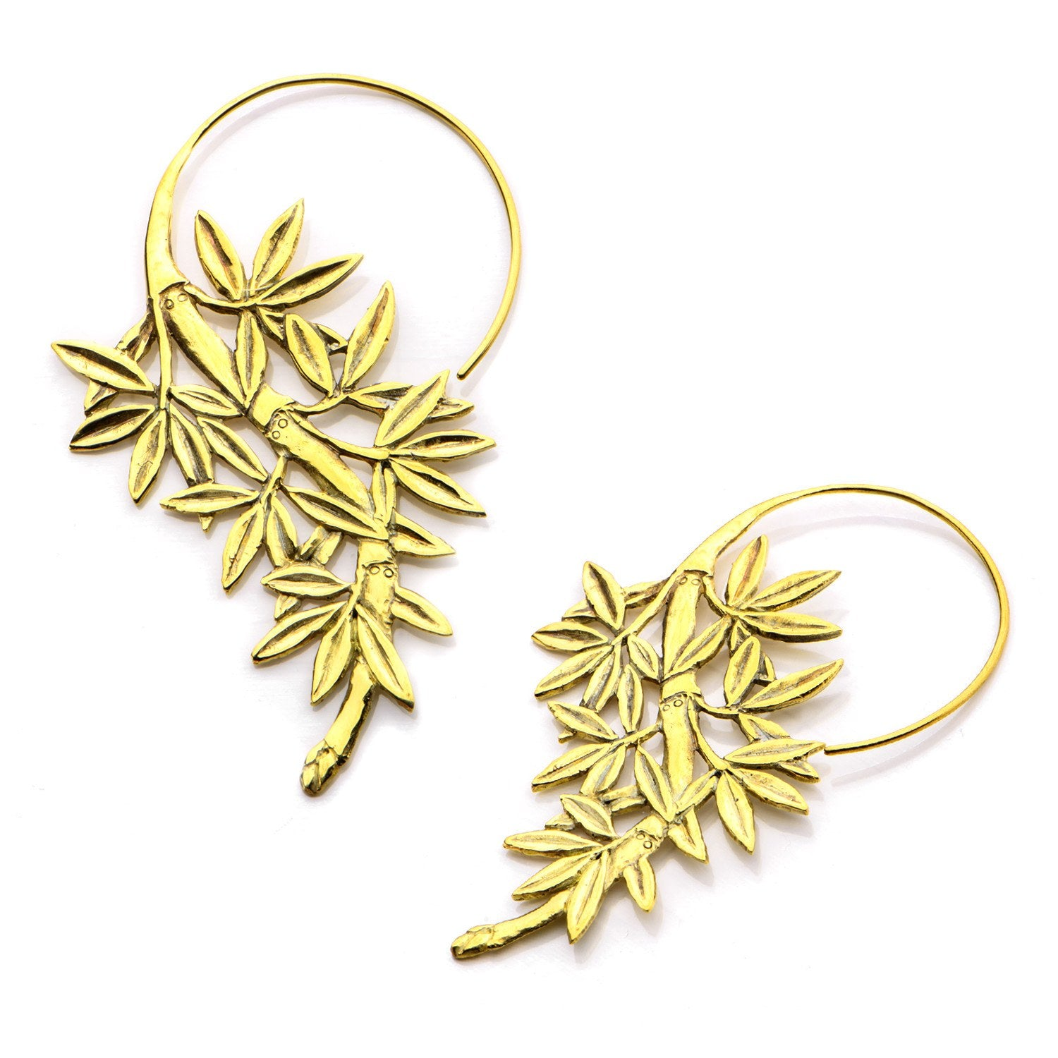 18g Lefi Brass Earrings
