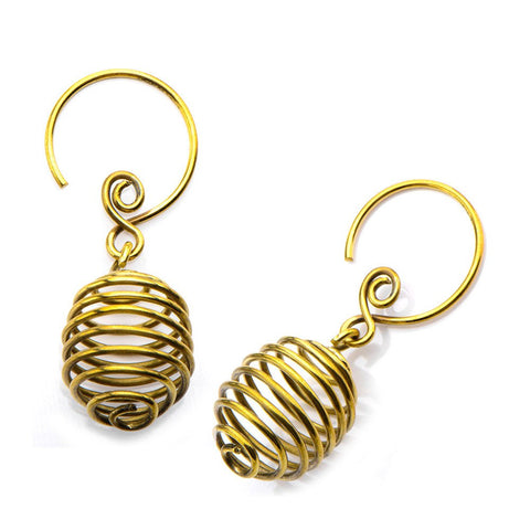 18g Magnu Brass Earrings