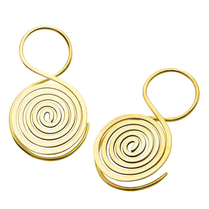 Segmada Brass Earrings