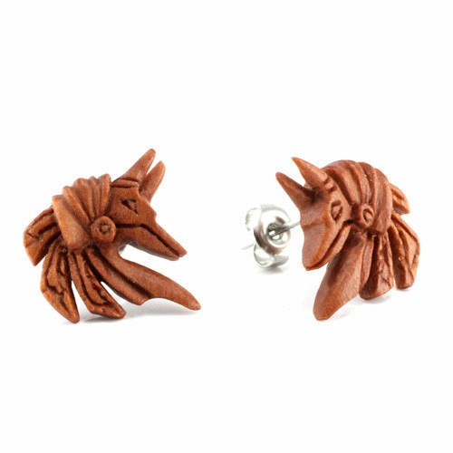 Anubis Earrings by Urban Star