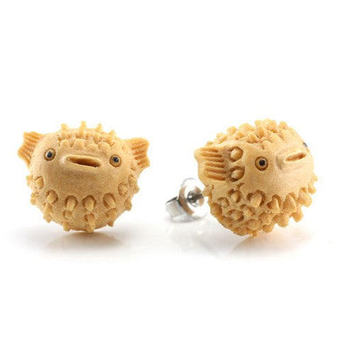 Blowfish Earrings by Urban Star