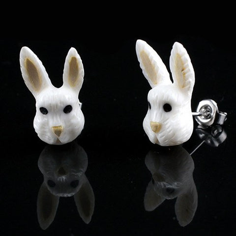 Bunny Moji Earrings by Urban Star