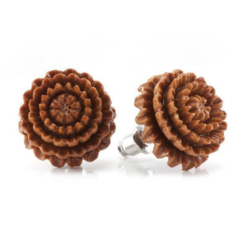Chrysanthemum Earrings by Urban Star